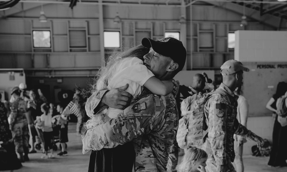 Heart felt military homecoming