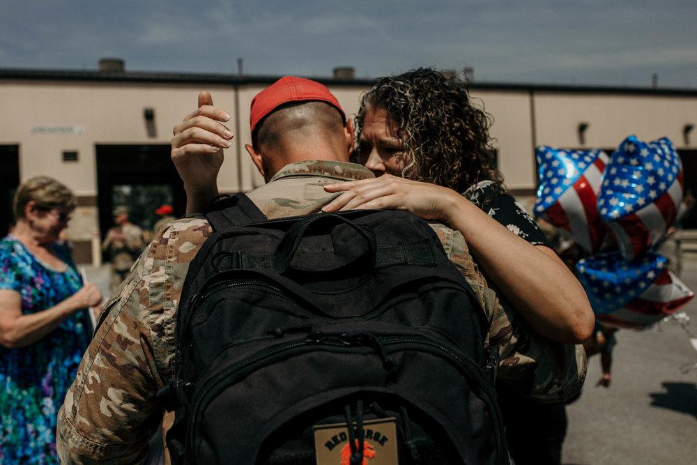 Reunited after a 7 month deployment