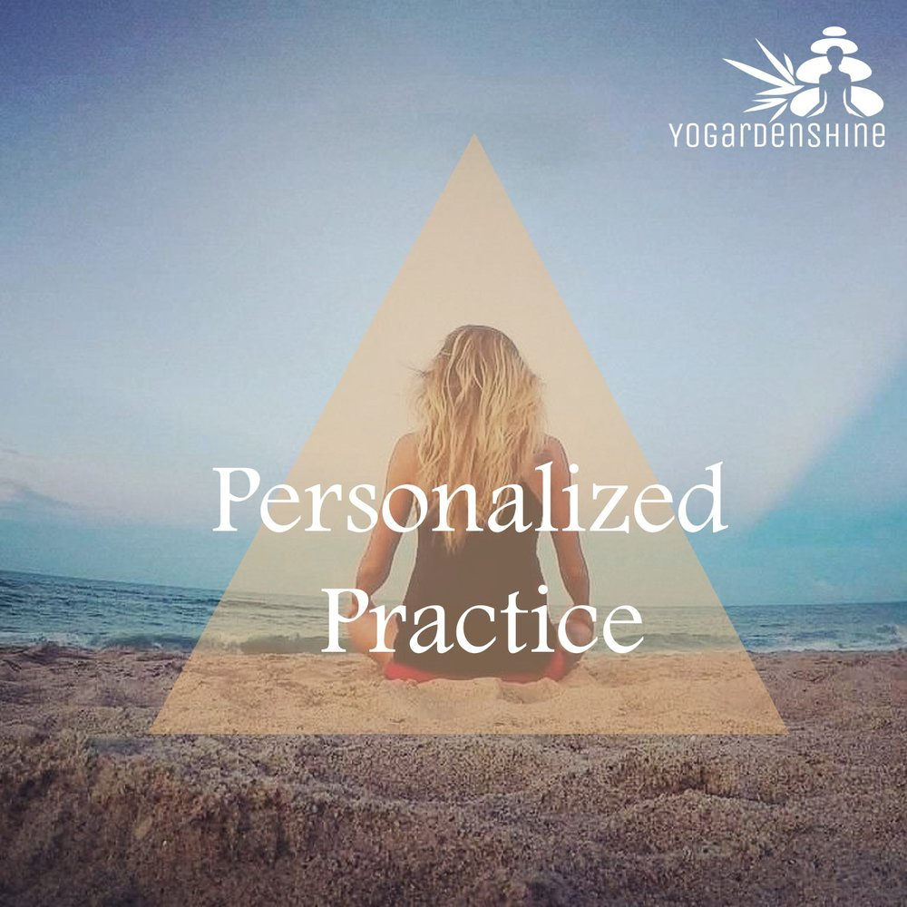 Personalized Practice - A personalized practice tailored to your specific goals, with your strengths, limitations and energetic needs in mind, ranging from a powerful 10-minute morning ritual to a longer in-depth practice.Set up a consultation.