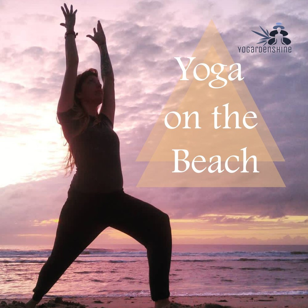 Yoga on the Beach - A mat-free yoga practice designed specifically for Mother Earth's ocean-side classroom. Immerse yourself in the elements and soak up the beauty surrounding you while practicing the tools of yoga.Check for class schedule spring thru fall or book a private session.