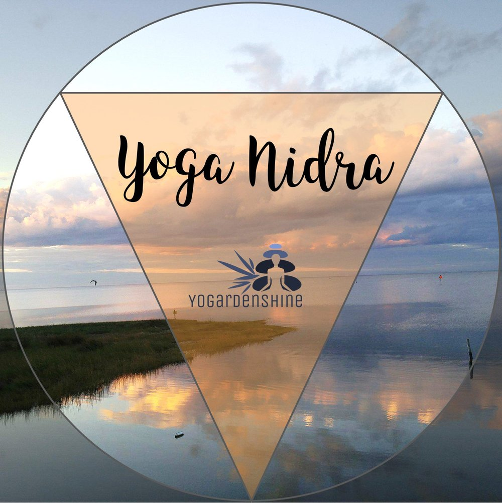 Yoga Nidra - A deep-relaxation process used for healing yourself, relieving tension, and cultivating tools toward self-mastery. You will be guided through the meditation while resting comfortably on your back.