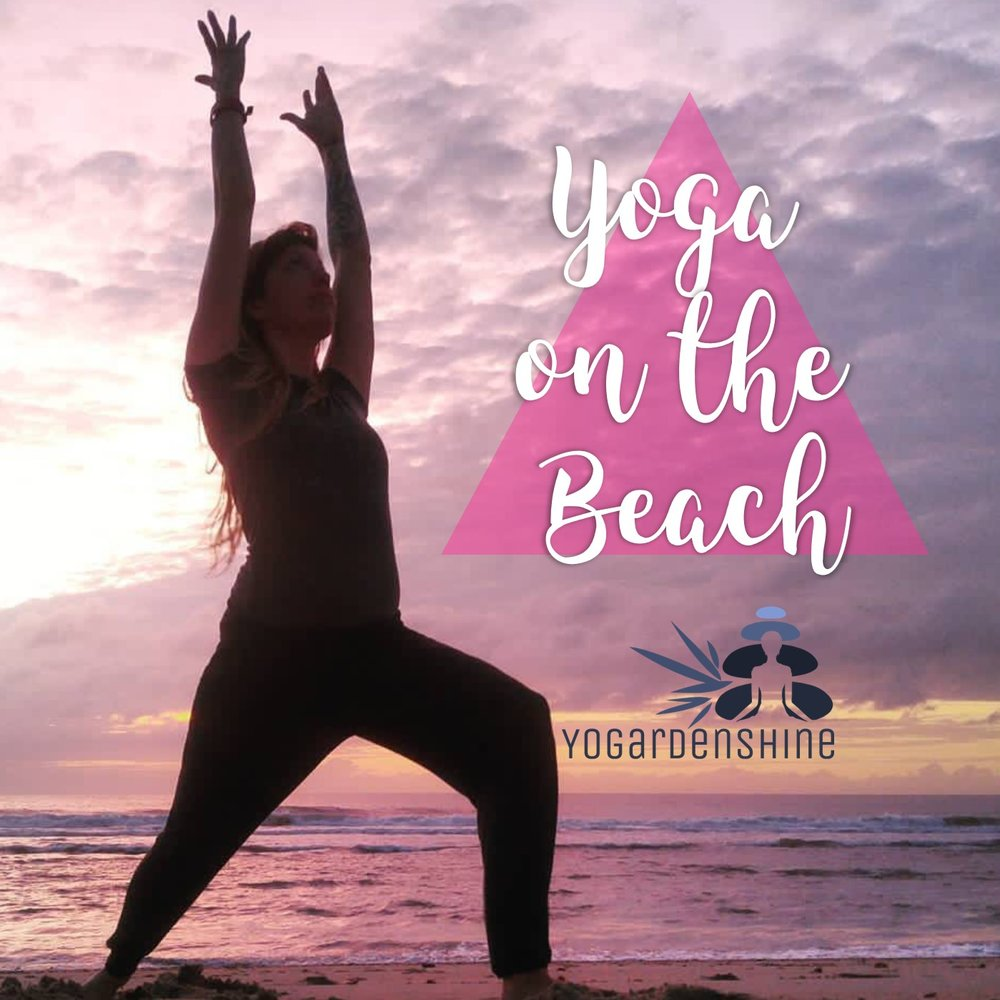 Yoga on the Beach - A mat-free yoga practice designed specifically for Mother Earth's ocean-side classroom. Immerse yourself in the elements and soak up the beauty surrounding you while practicing the tools of yoga.Check for class schedule (Spring thru Fall) or book a private session.