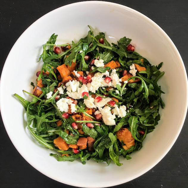 sweet potato and pomegrante salad.jpg