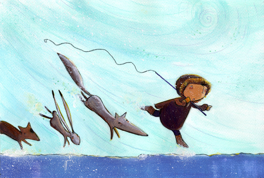 Istak le petit Inuit