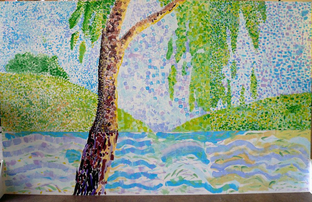 Les couleurs et pointillistes