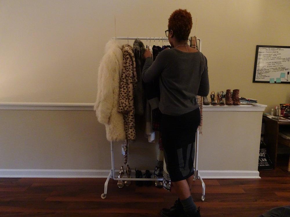 Sweater: A&E Skirt: Express Shoes: Doc Martens