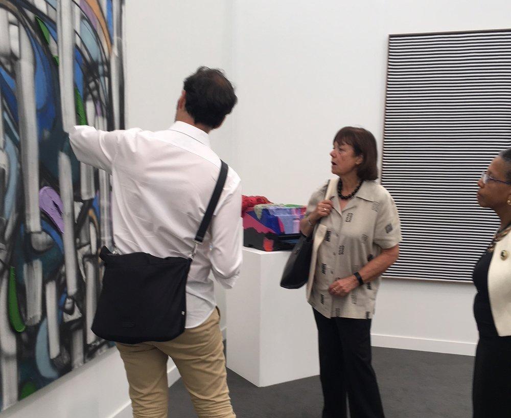 Visiting Frieze New York Art Fair