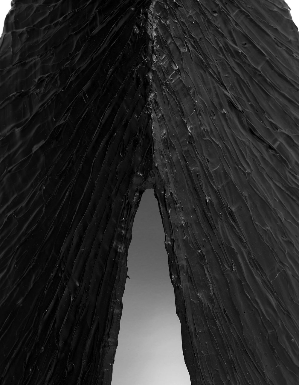 Mussel,-Plywood,-blackboard-paint,-gel-medium,-acrylic-paint,-47-x-24-x-11cm,-2012-(detail).jpg