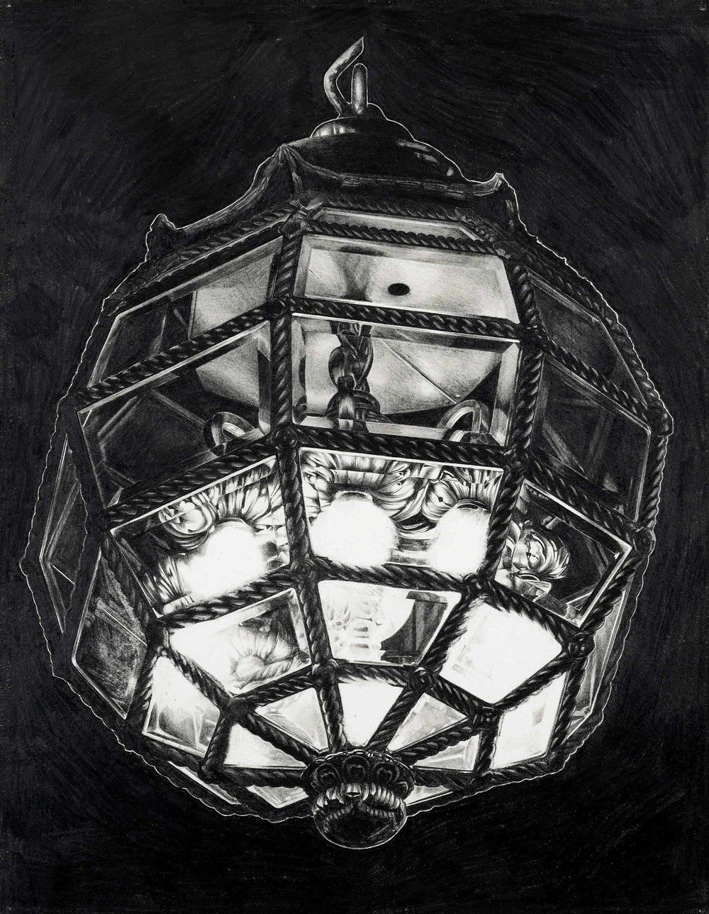 Study;-Lamp,-Pencil-on-paper,-34.5-x-44.jpg