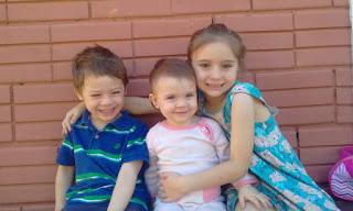 Ana, Gabrielli, and Antoine