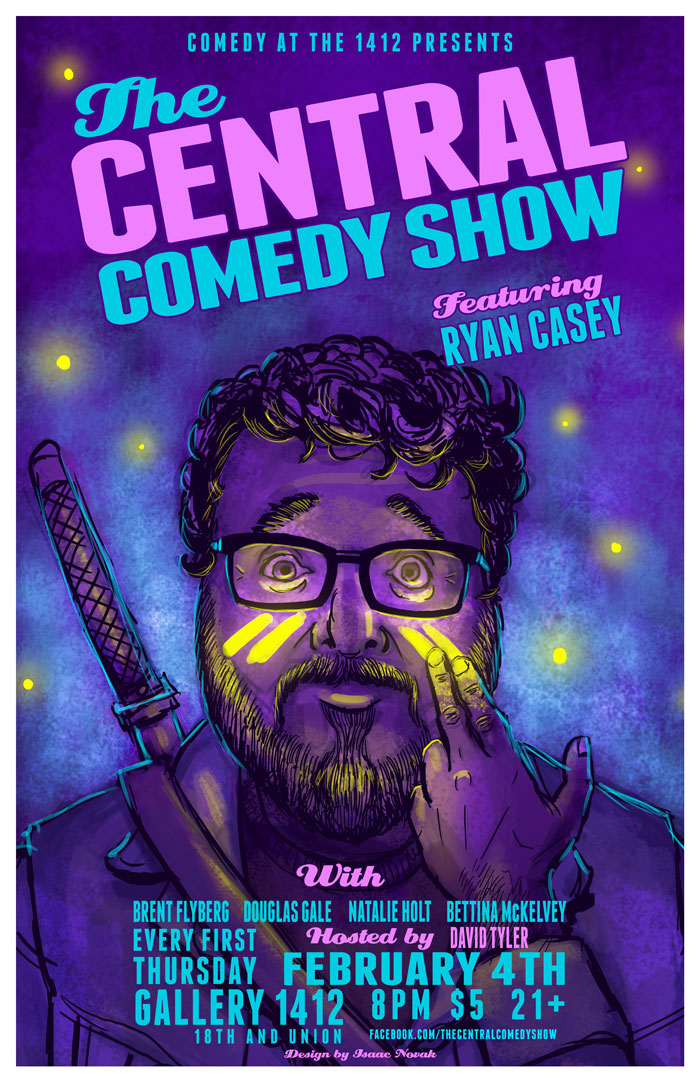 The Central Comedy Show Presents: Ryan Casey
