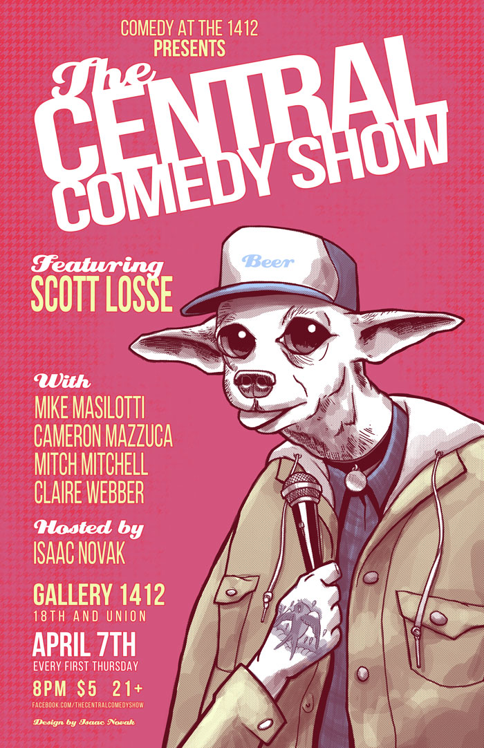 The Central Comedy Show Presents: Scott Losse