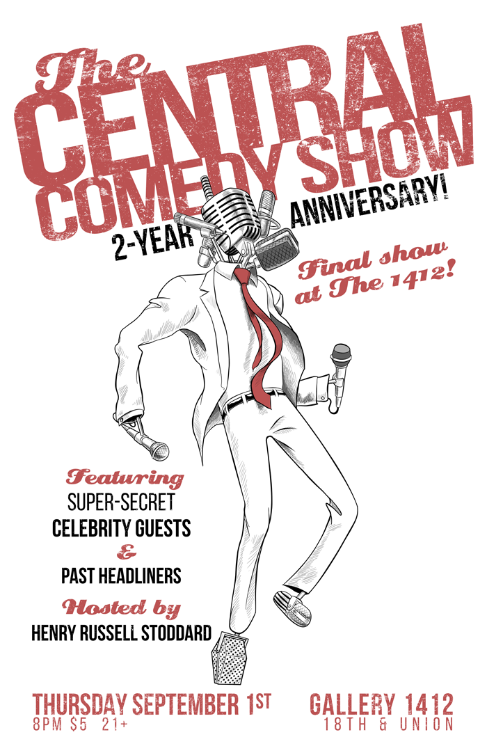 The Central Comedy Show 2-Year Anniversary