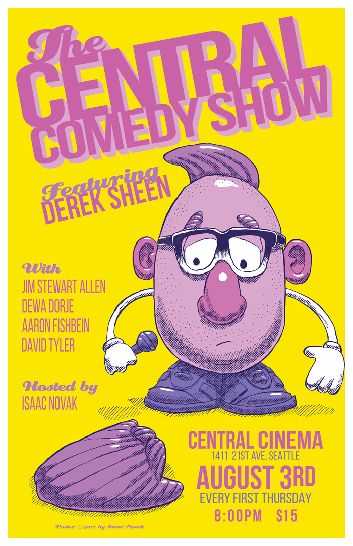 The Central Comedy Show Presents: Derek Sheen