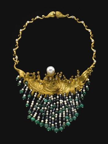 Salvador Dali, Swirling Sea Necklace, 1954.