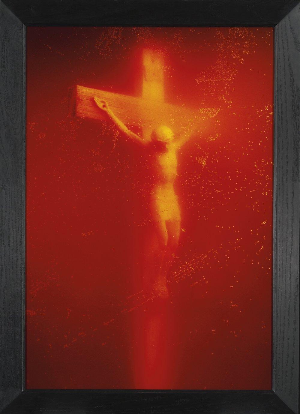 Andres Serrano,  Piss Christ , 1987