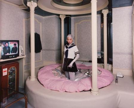 Love Hotel , 1994, dye-destruction print, 47.5 x 60 in. (120.6 x 152.4 cm.)