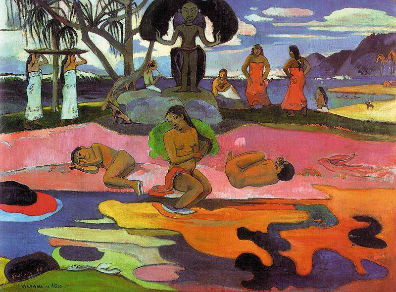 Paul Gauguin,  Mahana No Atua (The Day of God), 1894