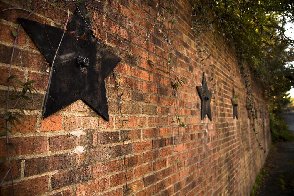 Wall, Pearl Mill Flats, Durham condominiums