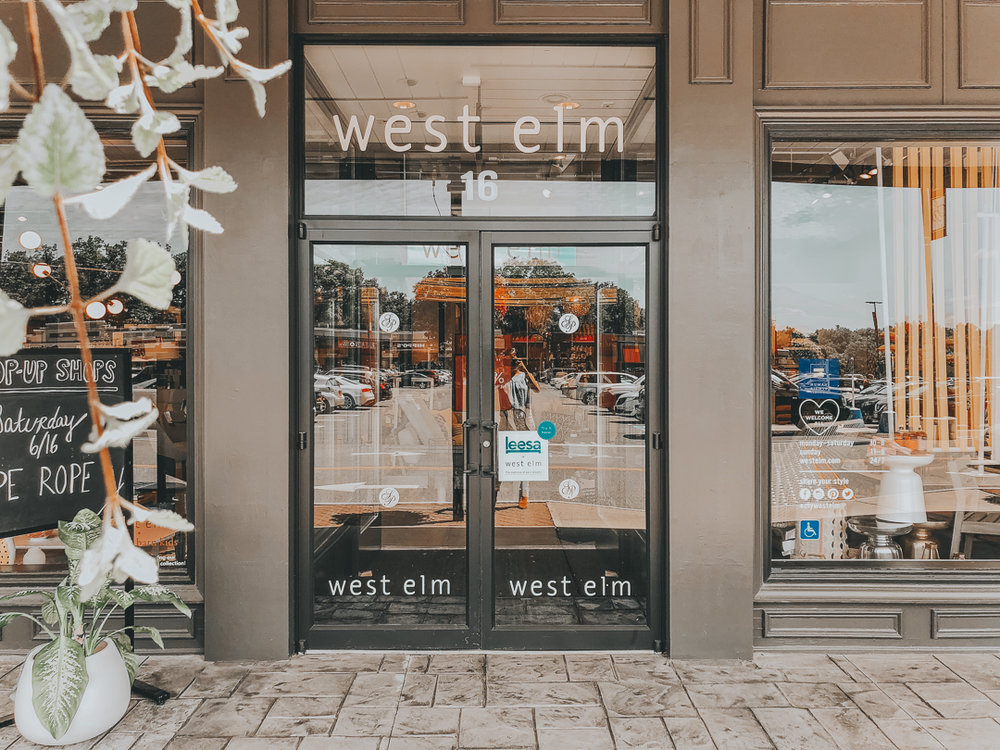 West Elm Christmas Display.West Elm X Dope Rope Pop Up Shop The Dope Rope