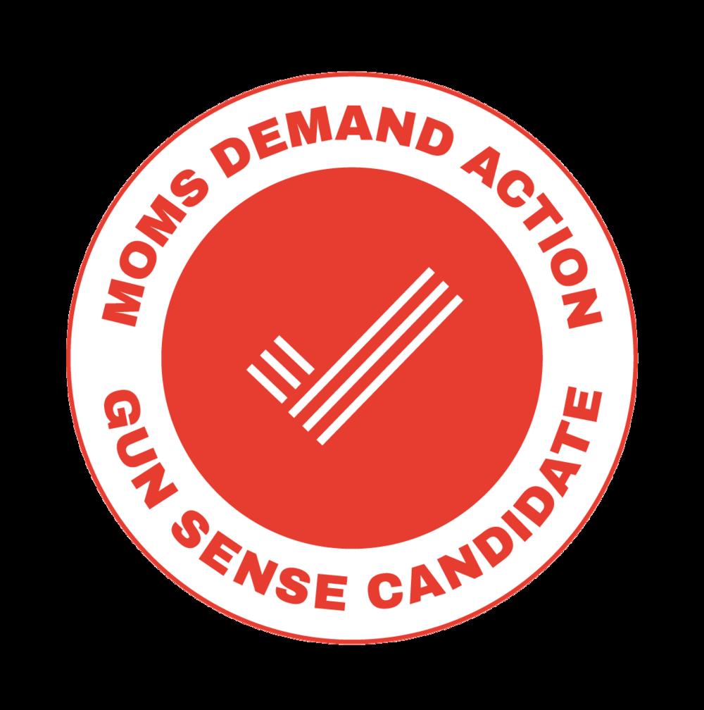Mom's Demand Action Gun Sense Candidate Distinction