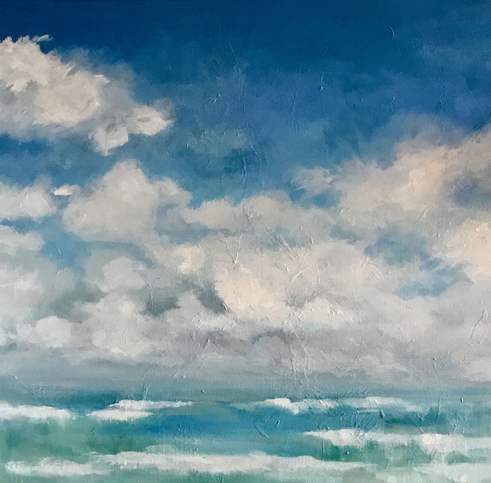 CLOUDS | 30X30 | OIL