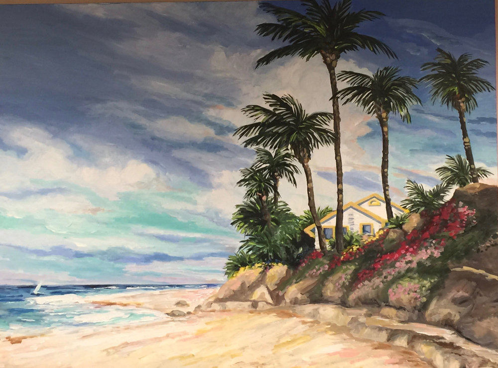NORTH SHORE | ACRYLIC | 36X48