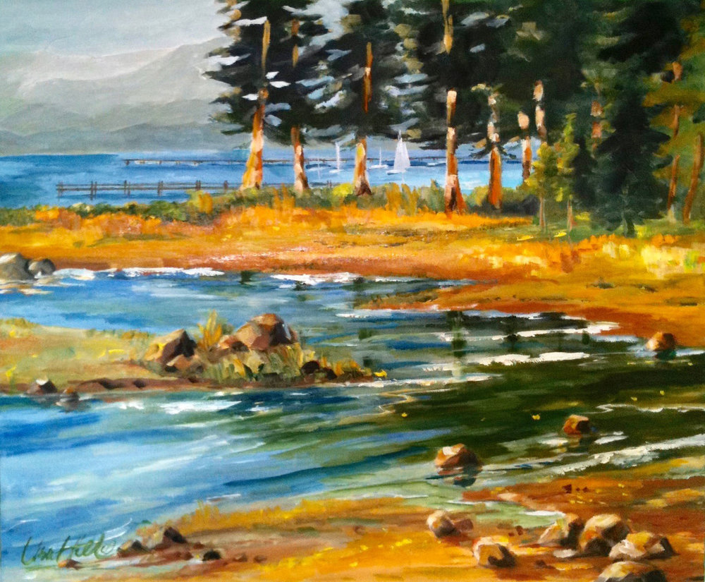 RIVER OUTLET | OIL | 24X30