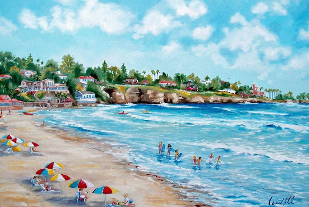 BEACHTIME | OIL | 30X40
