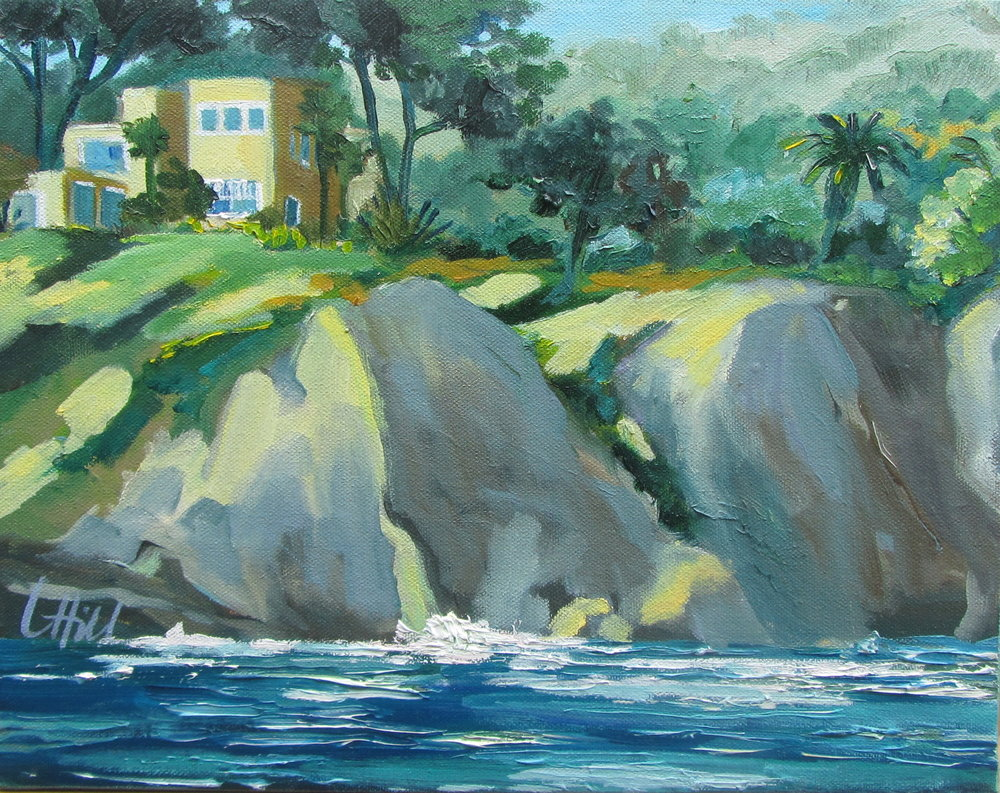 CLIFFS  11x14  oil.jpg