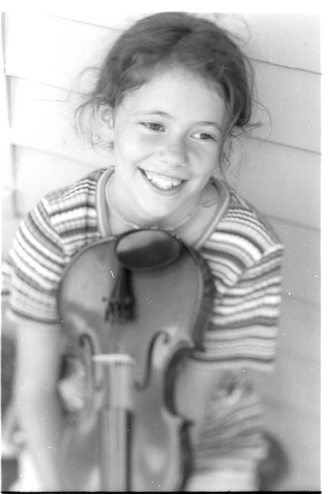 Jessi as a child; photo by  Jeff Frazier