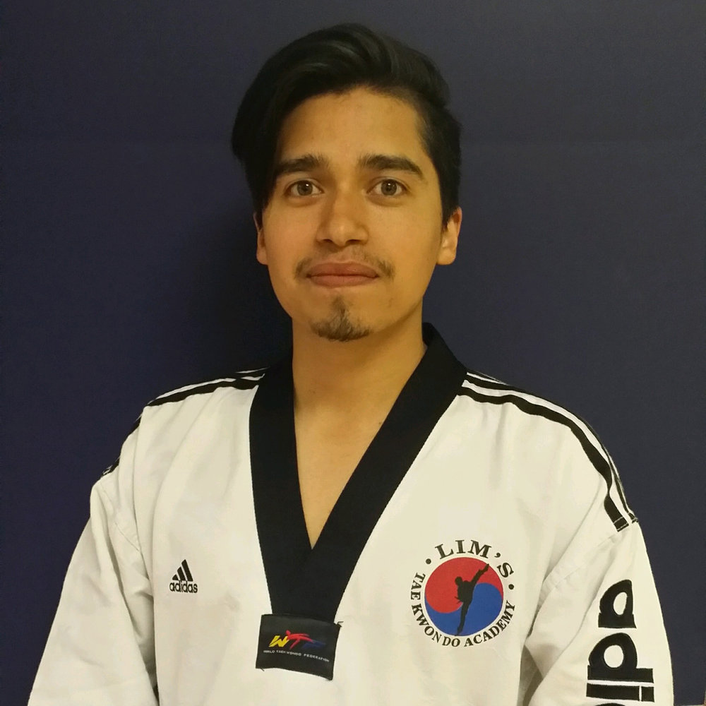 Ygnaxio Vergara, Instructor   3rd Degree Black Belt