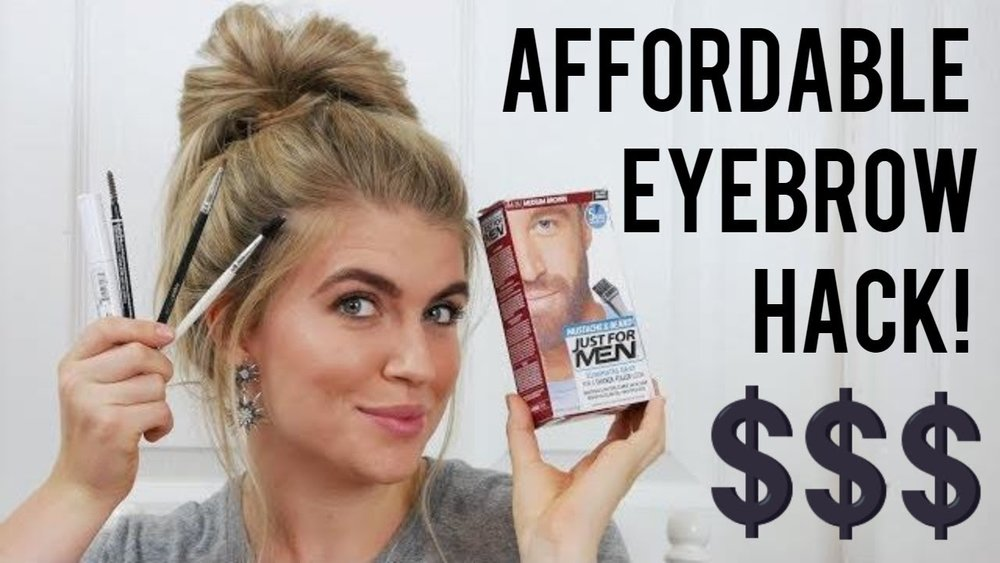How I tint my eyebrows at home for $7! — Hannah With The Lipstick