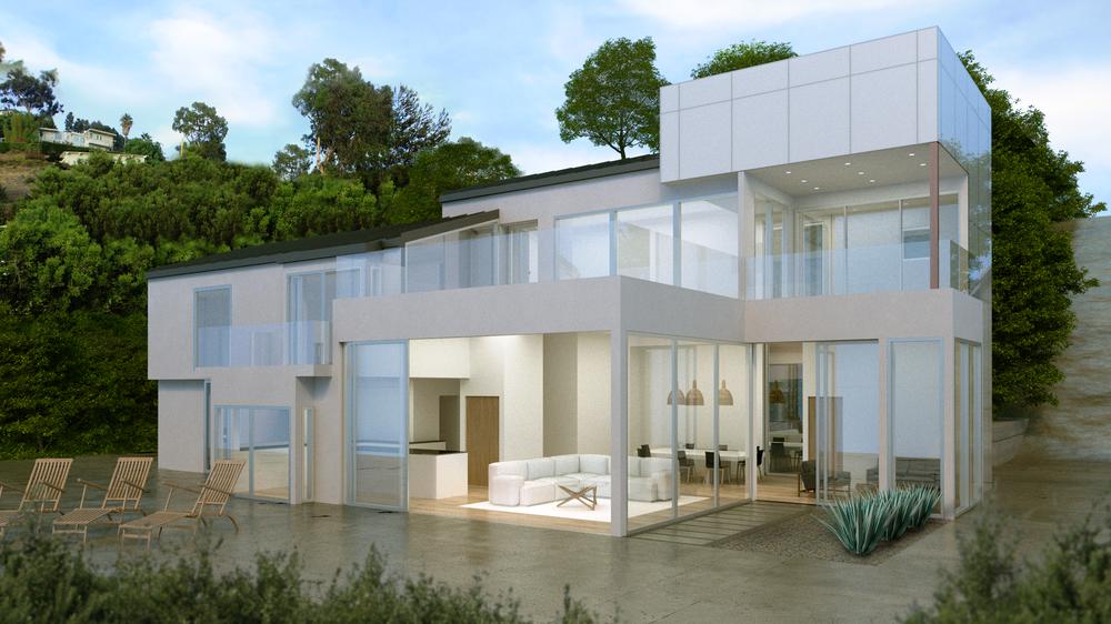 Malibu House Rendering - Design by Classical Progression Inc.