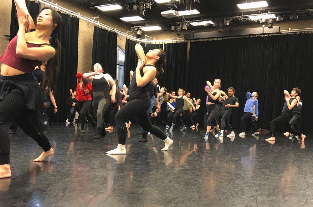 Linda Ryan at BSU Dance