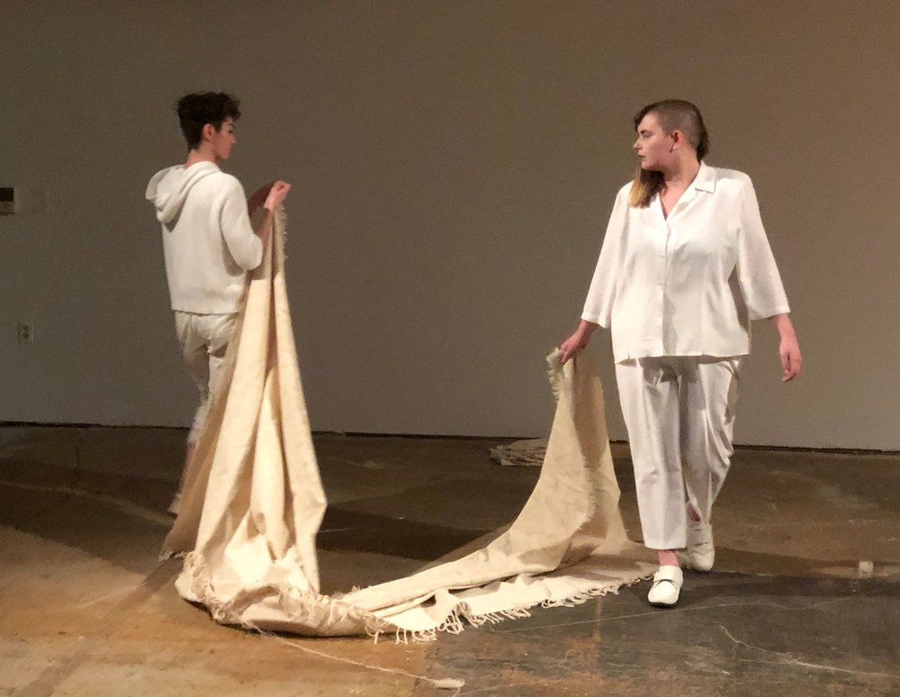 Deconstruction, performance with Melissa Joy Livermore