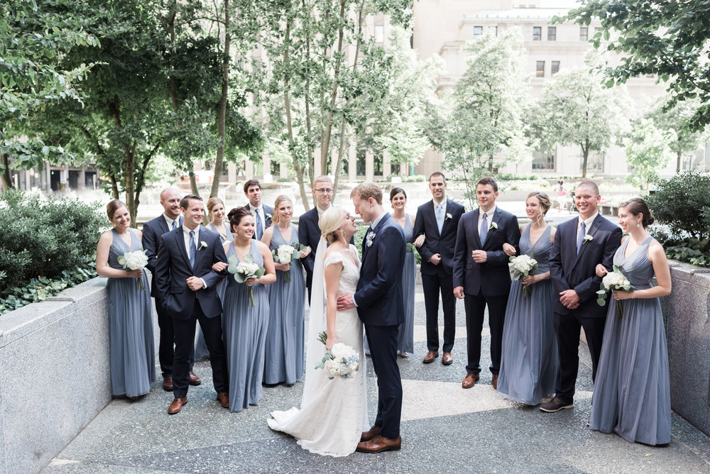 This photo (and ALL photos in this post) are thanks to Levana Melamed - our wonderful photographer who I would recommend to  anyone  planning a Pittsburgh wedding!