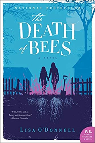 "The Death of Bees. - ""A riveting, brilliantly written debut novel, The Death of Bees is a coming-of-age story in which two young sisters attempt to hold the world at bay after the mysterious death of their parents.Marnie and Nelly, left on their own in Glasgow's Hazlehurst housing estate, attempt to avoid suspicion until Marnie can become a legal guardian for her younger sister.""I didn't love this one. It made me sad consistently throughout the book - it was a real downer! I'd choose a different option from the ones outlined above."