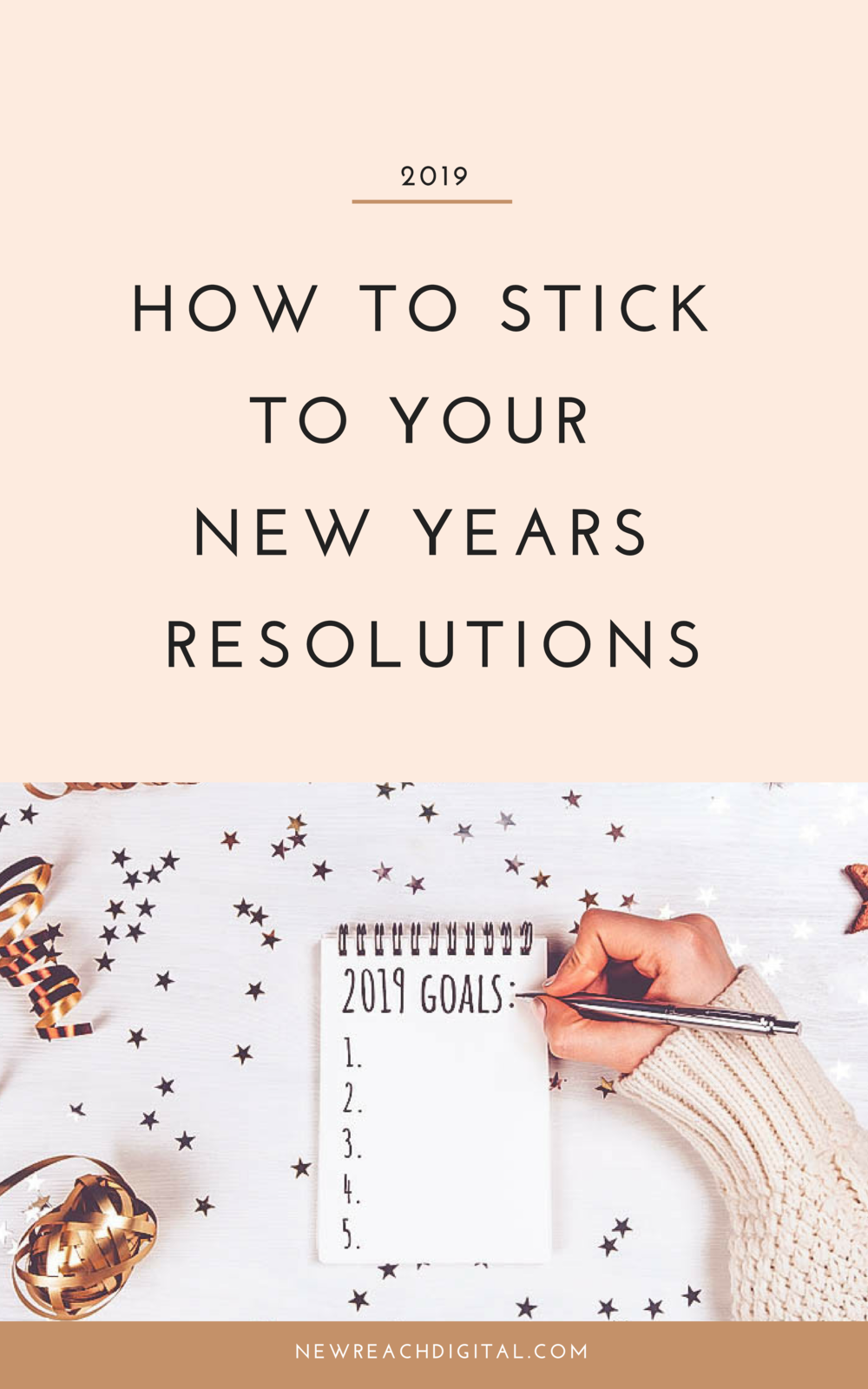How to stick to your New Years Resolutions