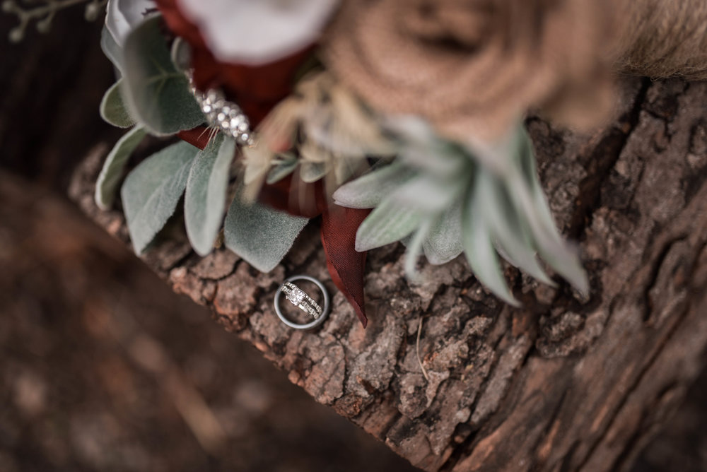 Wedding Ring, Wedding Details, Rustic Illinois Wedding, Rustic Chicago Wedding
