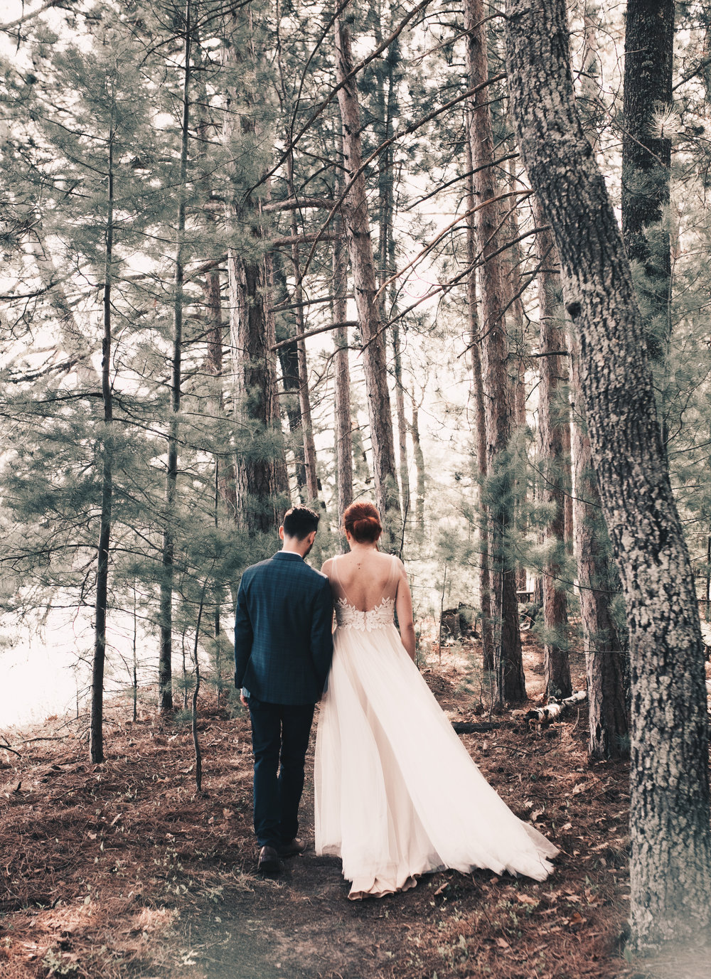 Rustic Woodsy Wedding, Wisconsin Wedding Photographer, Wisconsin Wedding, Beautiful Outdoor Wedding, Outdoor Woodsy Ceremony