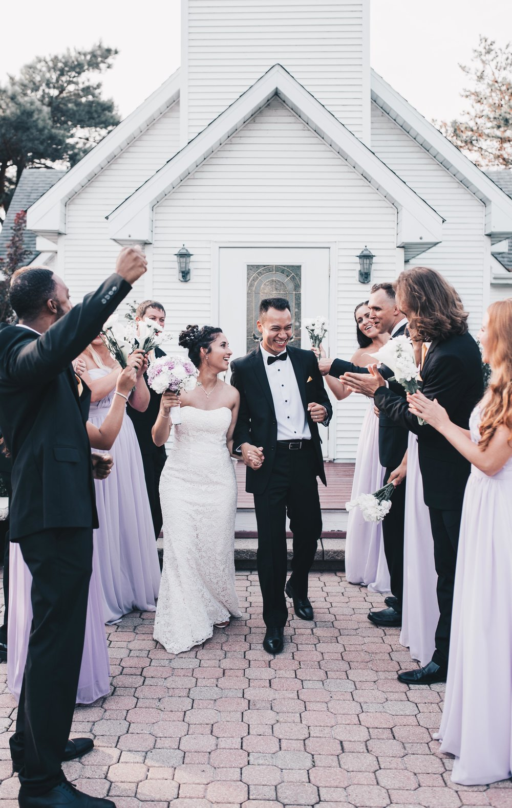 Chapel in the Pines Wedding, Chicago Wedding, Illinois Wedding, Bridal Party Photos