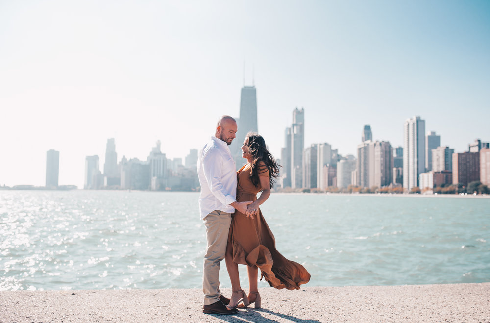 Chicago Engagement Photo, Chicago Engagement Photographer, North Avenue Beach Engagement, North Avenue Beach Couples Photos, Chicago Wedding Photographer
