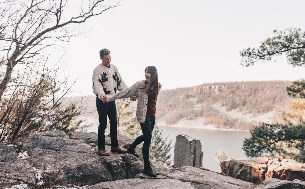 Devils Lake State Park Session, Devils Lake State Park Engagement Photographer, Devils Lake State Park Photographer, Devils Lake State Park Elopement, Devils Lake State Park Wedding Photographer