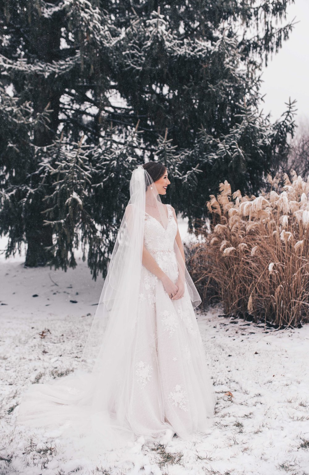 Winter Wonderland Wedding, Winter Wedding, Illinois Wedding, Winter Bride, Winter Wedding Photos