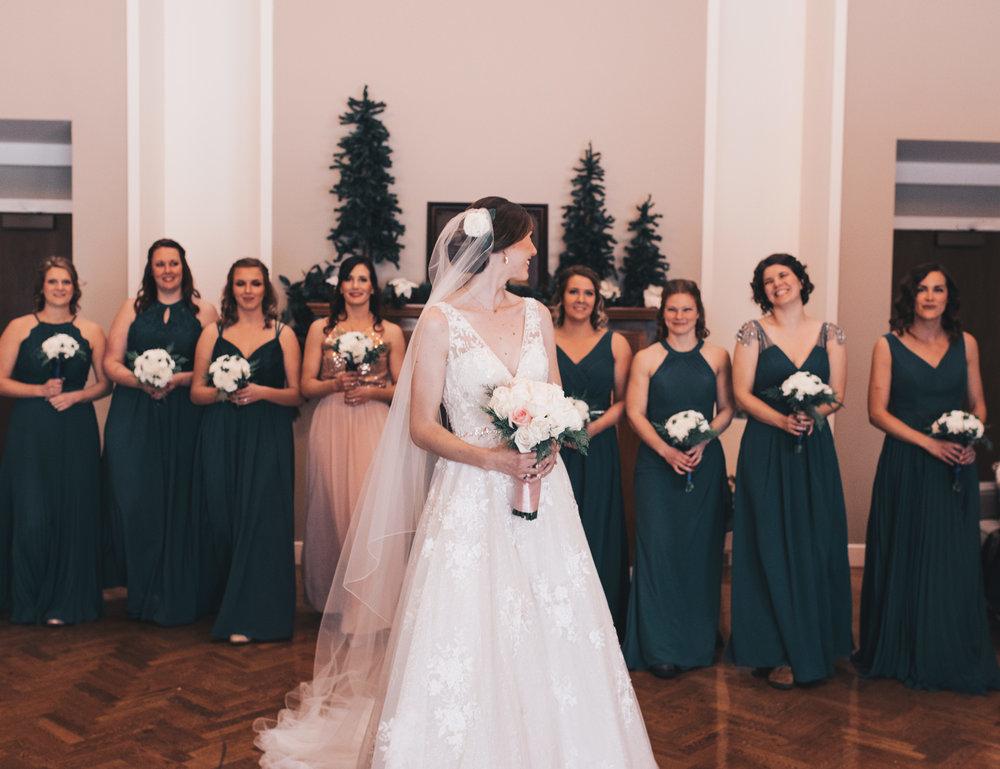 Winter Wedding, Chicago Winter Wedding, Chicago Wedding Photographer, Illinois Wedding, Illinois Wedding Photographer, Classy Modern Wedding, Bridesmaid Photos, Bride And Bridesmaid Photos
