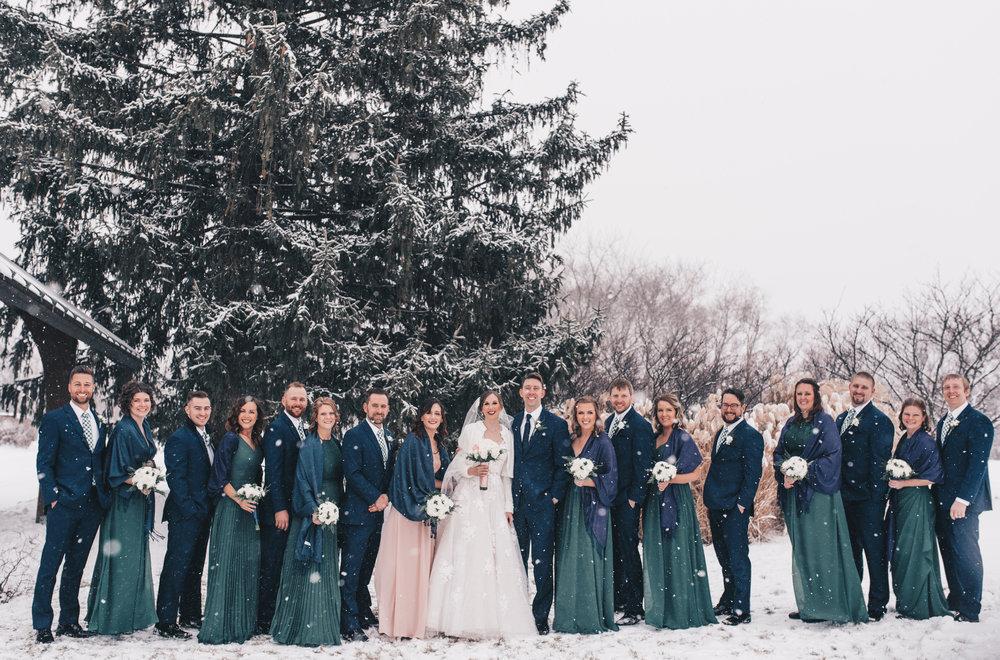 Winter Wedding, Chicago Winter Wedding, Chicago Wedding Photographer, Illinois Wedding, Illinois Wedding Photographer, Classy Modern Wedding, Bridesmaid Photos, Bridal Party Photos