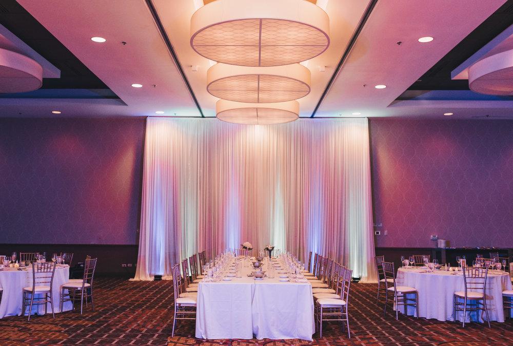 Winter Wedding, Chicago Winter Wedding, Chicago Wedding Photographer, Illinois Wedding, Illinois Wedding Photographer, Classy Modern Wedding, Reception Photos, Marriot Hotel Wedding