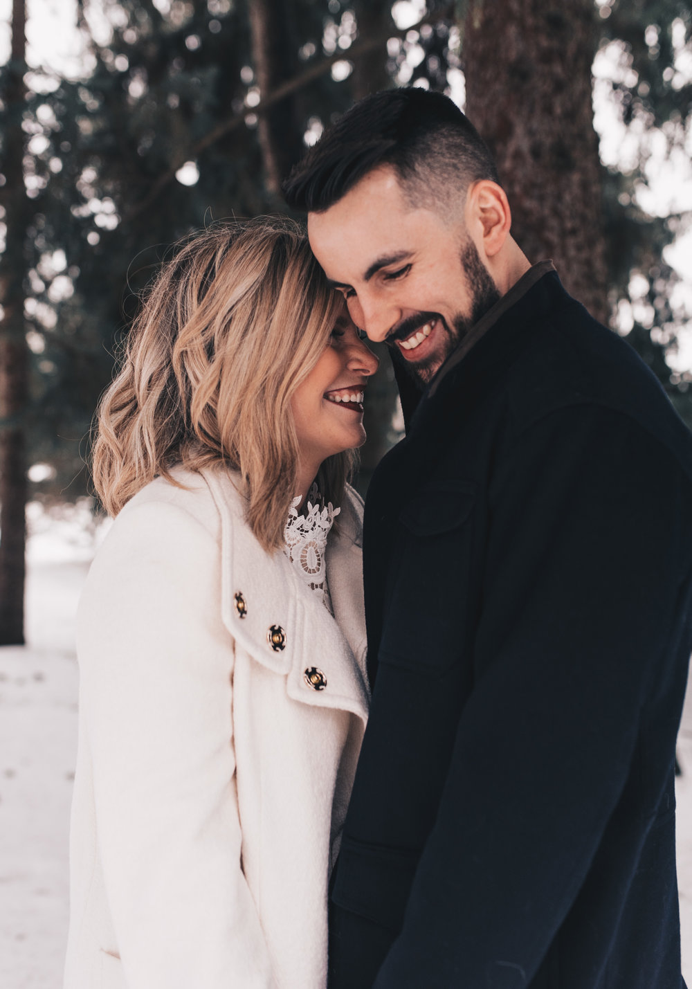 Winter Couples Session, Outdoor Winter Engagement Session, Woodsy Adventurous Couples Session, Illinois Wedding Photographer, Illinois Couples Photographer, Illinois Engagement Photographer