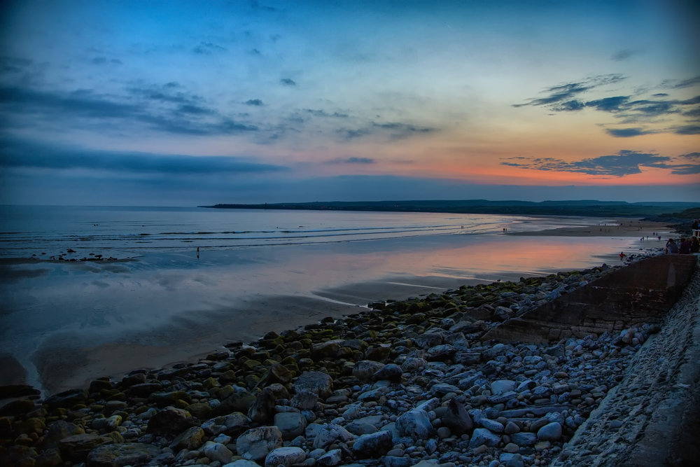 Sunset in Lahinch